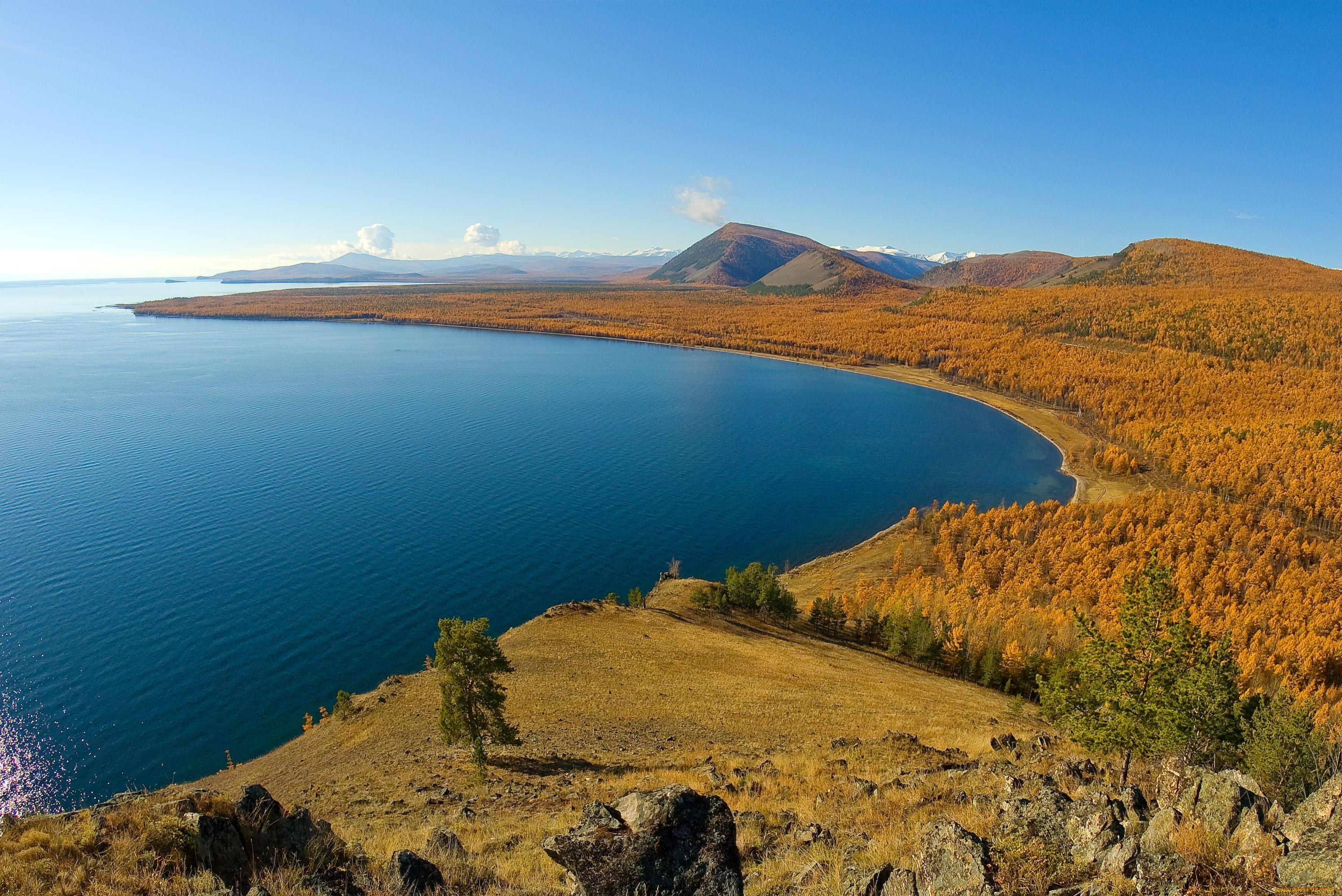 фото отличного качества озеро байкал современная